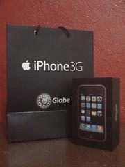 iPhone 3G, 8GB (Globe Locked)