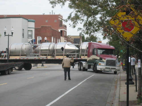 Half Acre Beer tank delivery