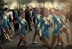"""We are the happiest!"" (ShanLuPhoto) Tags: kids kimjongil northkorea dearleader pyongyang dprk kimilsong    maydaystadium"