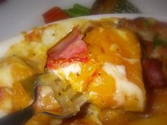 南瓜培根燻肉起司焗烤