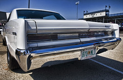 1964 Pontiac GTO (hz536n/George Thomas) Tags: blue fall oklahoma orphan perkins pont hotrod canon5d pontiac gto 2008 smrgsbord cs3 kartpostal topazadjust hz536n
