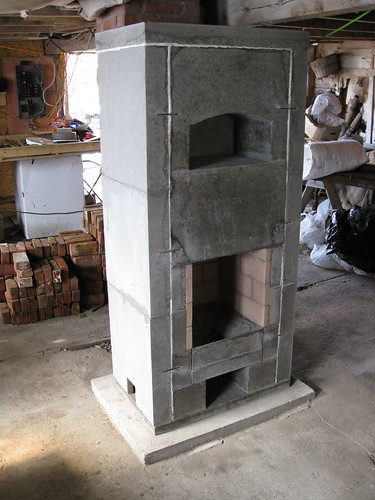 Newbury Masonry Heater Core
