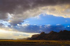 [フリー画像] [自然風景] [山の風景] [岩山の風景] [雲の風景] [キャニオンランズ国立公園] [アメリカ風景]     [フリー素材]