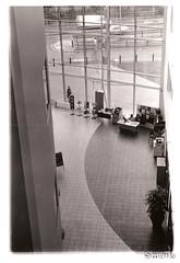 Textures and Patterns - Aylesbury College (Uncle Berty) Tags: uk england bw white black film college darkroom dark patterns room scan textures scanned aylesbury berty brill bucks smalls hp18 robfurminger