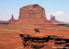 John Ford's Point, Monument Valley, Utah (Jeff Wignall) Tags: arizona horses southwest utah navajo monumentvalley wildwest nikon5700 wignall johnford navajotribalpark westernlandscape fordspoint