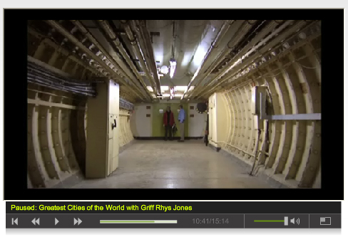 Kingsway Tunnels for Sale - Screengrab from ITV