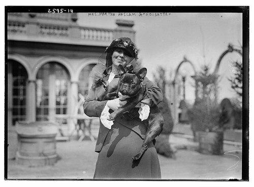 "Mrs. Martha Haslam & ""Noisette"" (LOC)"