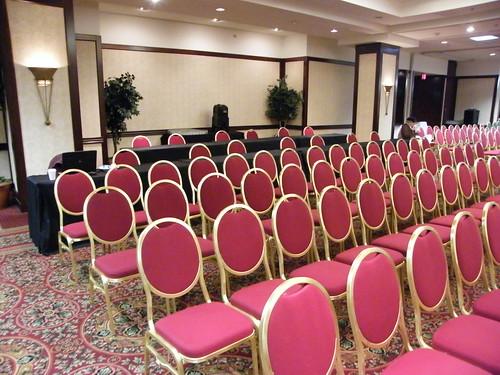 The ballroom's got blogger tables (1)