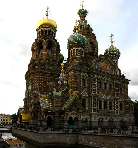 Church of Our Saviour on Spilled Blood. Photo by thisisbossi