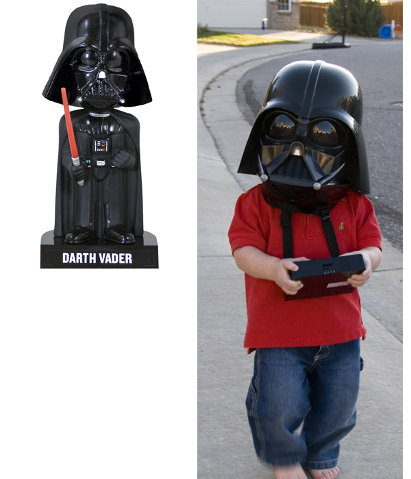 Darth Vader Bobble Head Similar