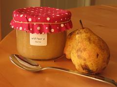 Wild Pear & Vanilla Jam