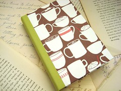 Winter Hot Cocoa - Mini Journal or Notebook (boundto) Tags: holiday notebook book journal gift etsy bound boundto