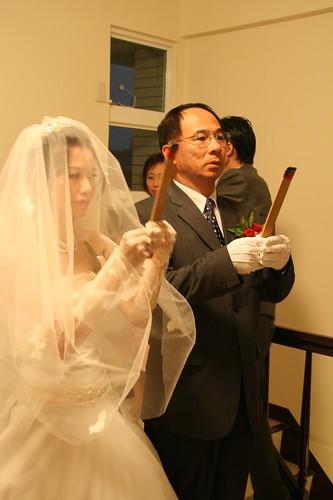 你拍攝的 20081110GeorgeEnya迎娶275.jpg。