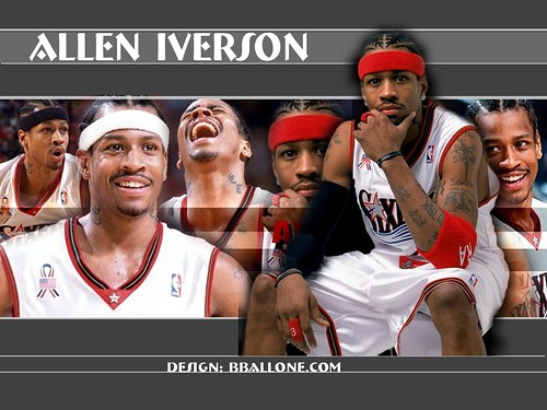 vince carter raptors wallpaper. allen iverson wallpaper 76ers.