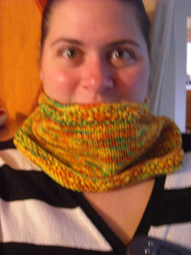 mia's fall harvest cowl