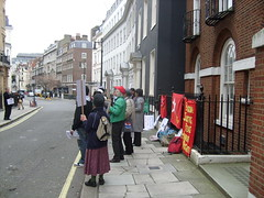 S7301398 (FREE BURMA2008) Tags: london for embassy demonstration jail years leaders 88 receive burmese generation 65 terms