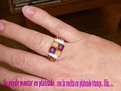 Anillo amatista_topacio (isa.abalorios) Tags: anillos