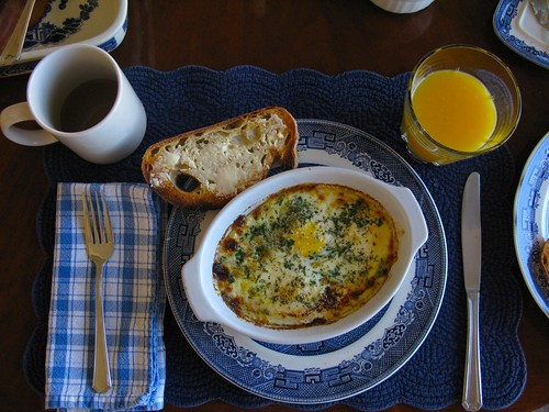 breakfast @ mom's house