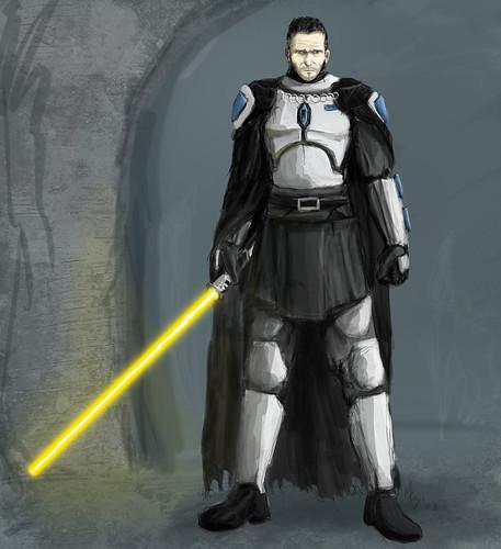 Solus Gar, Mando Jedi