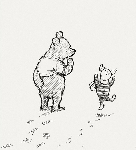 'What.' Said Piglet, With A Jump
