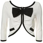 bow cardigan