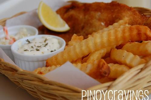 Beer Batter Fish and Chips Fish Bar Boracay