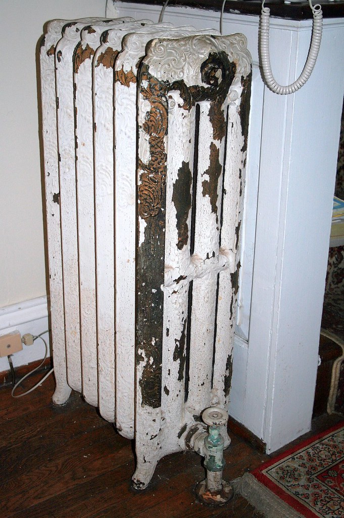 Oil heat radiator