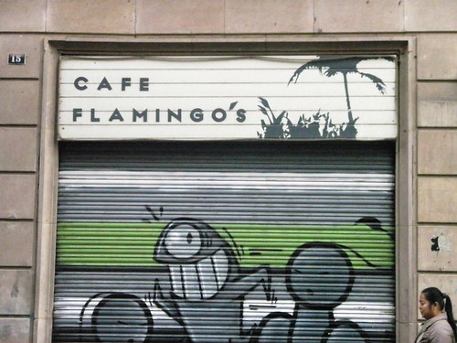 cafe flamingo's.