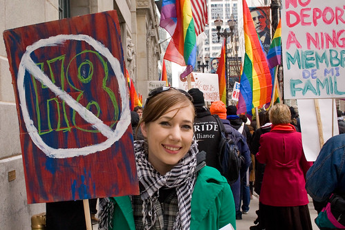 PHOTOS: Day Without a Gay Protest, City Hall, Chicago
