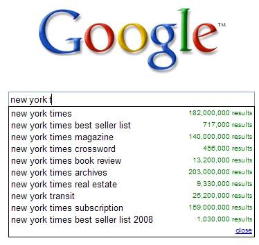 Google Search Suggest Get Ads, Links & Answers - Search