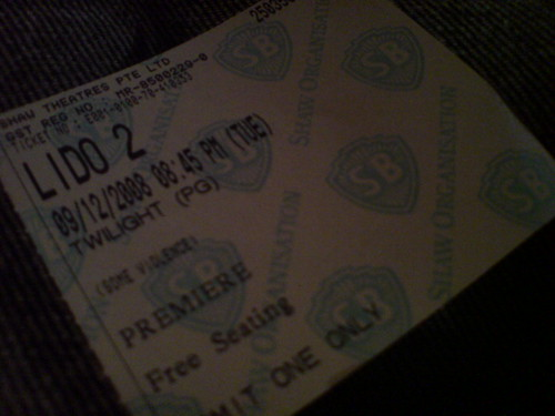 my twilight movie ticket!!