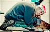 The man who sleeps (Manlio Castagna) Tags: santa christmas vintage dof bokeh homeless sydney australia shoeshine hdr manlio castagna infinestyle manliocastagna manliok