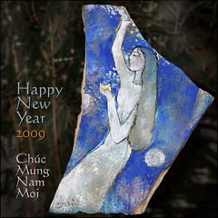 Art by Nguyen Khai (NaPix -- (Time out)) Tags: art stone painting happy artist newyear vietnam explore oil 2009 nguyen khai explored chcmngnmmi napix happynewyear2009 oilonstone cccunanimous