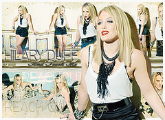 Hilary Duff - Reach Out (LoRd AnjE) Tags: woman sexy art love up photoshop out design video wake with hilary stranger lizzie disney best clean come reach yesterday dignity duff mcguire clipe so of