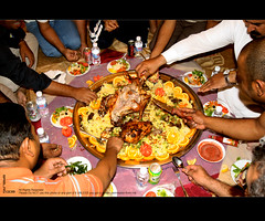 Dinner Party (Abdullah Al-Gazlan) Tags: party dinner rice