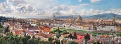 Florence Panorama HDR (ajagendorf25) Tags: italy panorama david observation florence high dynamic angle shots 5 wide ponte springbreak fiorentina piazza duomo michelangelo palazzo range piazzale hdr fiesole badia vecchio poggi vecchie d90 oltrarno settignano ajagendorf25 alexjagendorf bargella