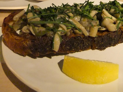 Fragrant Steamed Mushroom Toast, ABC Kitchen