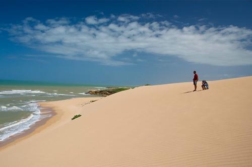 Desert meet Caribbean Sea