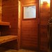 Sauna door installed!