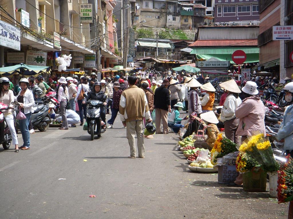 mercado central dalat