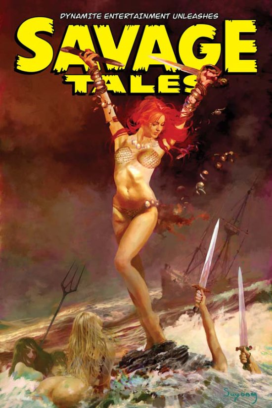 Savage Tales 6 (Suydam, cover)