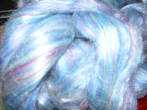merino/silk blend