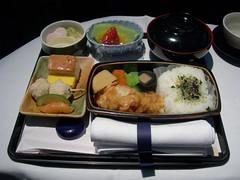 Breakfast, Lufthansa LH715 NRT-MUC