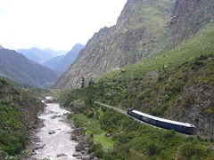 Trek Inka Trail riviere train