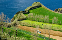 Morro de Capelas (Joe Taruga) Tags: blue sea verde green portugal azul geotagged mar earth curves terra azores aores curvas pontadelgada somiguel capelas jorgecardoso joodemelo morrodecapelas ilustrarportugal geo:lat=37840775 geo:lon=25685016