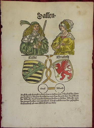 Cronecken der Sassen coat of arms