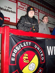 Me at Droylsden FC vs Ebbsfleet United (dannymufc7) Tags: football arms fc butchers droylsden ebbsfleet