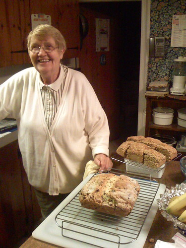 nannie and our baked irish bread