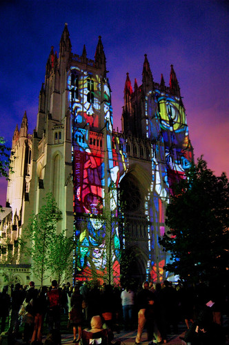 National Cathedral Illumination