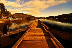 My Pender Harbour Gold Coast Sunset (tibchris) Tags: sunset canada clouds painting golden dock nikon penderharbour goldcoast1 goldcoast boatdock gardenbay d700 tibchris arcticpuppy bestofchris snapchris wwwsnapchriscom